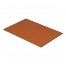 Brown, 600mm x 450mm x 12mm, High-Density Polyethylene Cutting Board Each