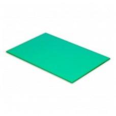 Cutting Board High Density Polyethylene Green 600mm x 450mm x 25mm