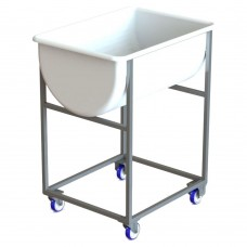 Stainless Steel Trolley For 170L Dough Container