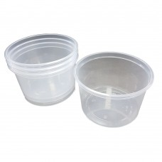 Deli Tubs Clear Small 500ml  Pack of 500