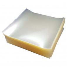 Burger Disc Square 125mm Clear Cellophane pack of 5000