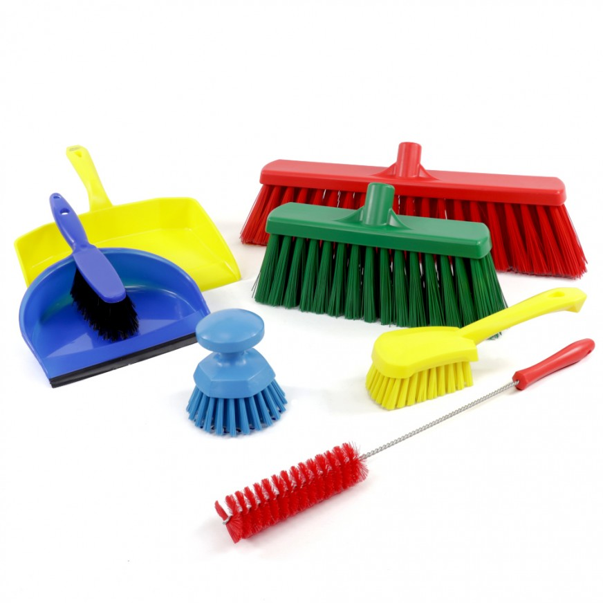 Brushes & Dustpans