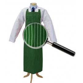 Apron Green &White Twin Stripe 90cm x 120cm