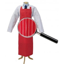 Apron Red &White Twin Stripe 90cm x 120cm