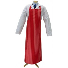Apron Red Stripe - 90cm x 120cm