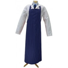 Apron Blue Stripe - 90cm x 120cm