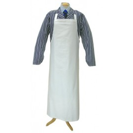 Apron White Cotton - 90cm x 120cm Large - Pk 10