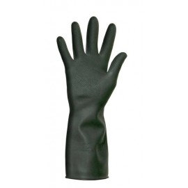 Heavyweight Latex Glove Black Extra Large