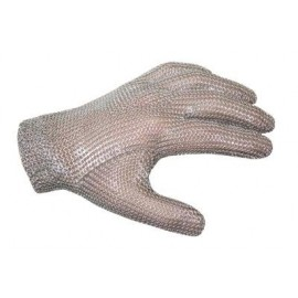 Chainmail Glove 5-DigitRed Medium
