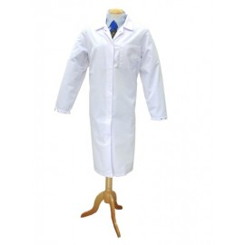 White Hygiene Coat (Ladies) Large 116cm