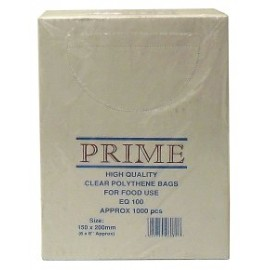 "Poly Bag Boxed 6"" x 8"" 100g - Per 1000"