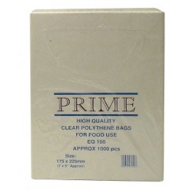 "Poly Bag Boxed 7"" x 9"" 100g - Per 1000"
