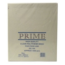 "Poly Bag Boxed 10"" x 12"" 100g - Per 1000"