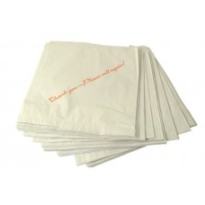 "Bag White Paper - 125mm x 125mm - 1000 ""Strung"""