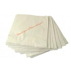 "White Paper Bag - 100x150x600mm (Baguettes) / Per 500 ""Strung"""