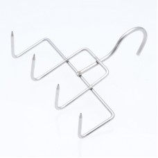 Bacon Hook 4 Prong Stainless Steel 160mm x 150mm x 4mm