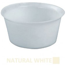 Bowl Heavy Duty Natural White 45Ltr 230mm x 480mm