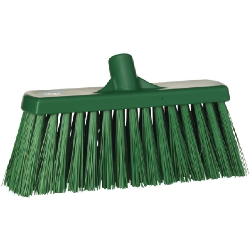 Vikan Heavy Duty, Very Stiff, Wet & Dry Sweeping Broom, 330mm