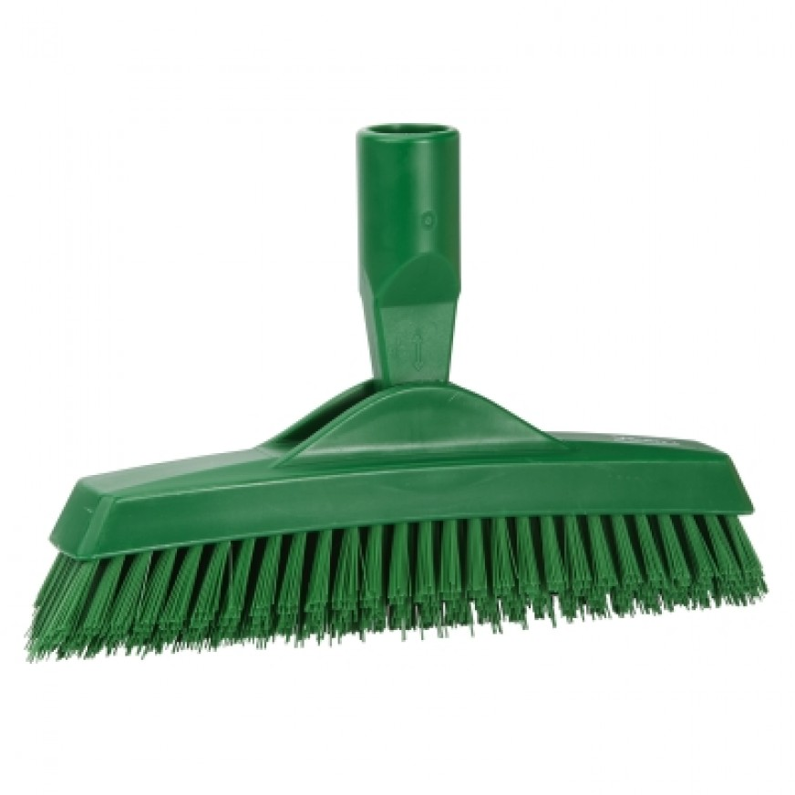 Vikan Extra Stiff Crevice Scrubbing Brush, 225mm