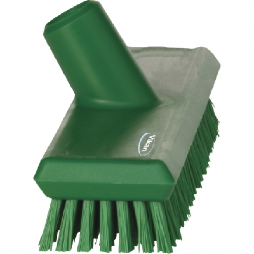 Vikan Waterfed Very Hard Short Bristled Deck Scrubbing Brush, 270mm