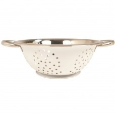 "'Colours' Colander Cream 24cm(~9½"")"