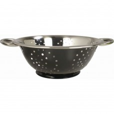 "'Colours' Colander  Black 24cm (~9½"")"