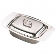 Butter Dish Stainless Steel with Lid