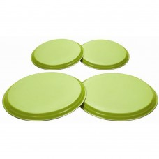 'Colours' 4pc Hob Covers Lime