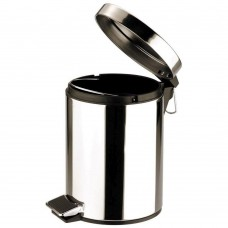 Pedal Bin Round Stainless Steel  Mirror 3Ltr