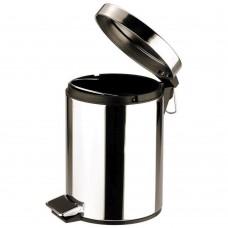 Pedal Bin Round Stainless Steel Mirror 12Ltr