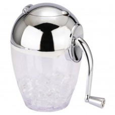 Ice Crusher With Chrome Top &Handle