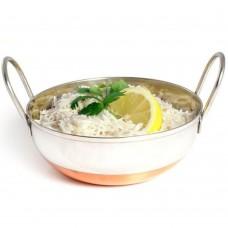 """Balti Dish Copper Base 15cm(~6"""") 17 Floz"""