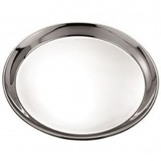 "Stainless Steel Round Tray  30cm(~12"")"