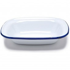 "Dish Pie Enamel 18cm x 13cm(~7""x 5"")"