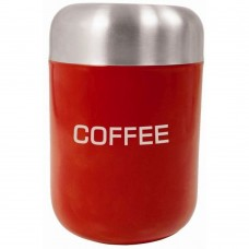 Coffee Canister Red S/S Lid