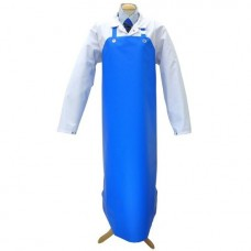 Blue Nitrile Apron 90x115cm