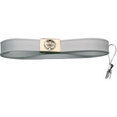 Belt For Plastic Scabbard-White