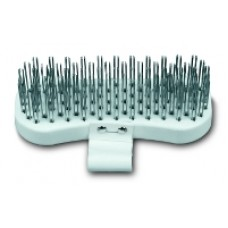 Strapped Polypropylene Block Brush with Zinc Plated Steel Tines