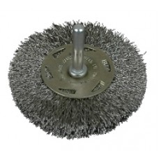 CONICAL WIRE BRUSH D50/ROD 6