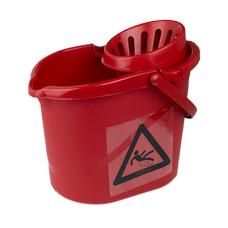 12L Mop Bucket Blue Red