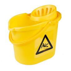12L Mop Bucket Blue Yellow