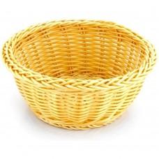 Basket Rattan Heavy Duty Round 19cm x 9cm