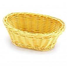 Basket Rattan Heavy Duty Oval 19cm x 14cm x 8cm