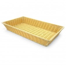 Basket Rattan Heavy Duty Rectangular 53cm x 32cm x 9cm