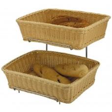 Basket Rattan Heavy Duty 2pc 36cm x 27cm x 9cm