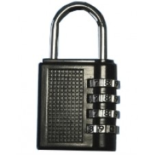 BRASS PADLOCK NUMBERS 40X25
