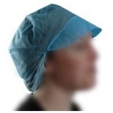 BLUE NON-WOVEN FISHNET CAP