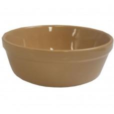Oatmeal Round Pie Dish 13.5 x 4.5cm