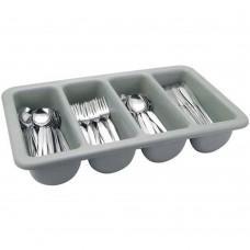 Cutlery Tray Plastic Grey