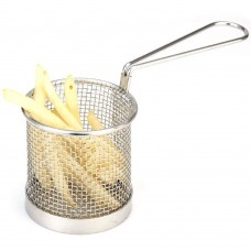 Chip Basket Stainless Steel  8cm x 8cm
